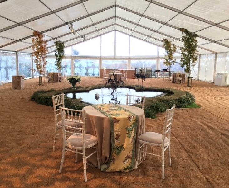 Creative Marquees and Winter Wakes