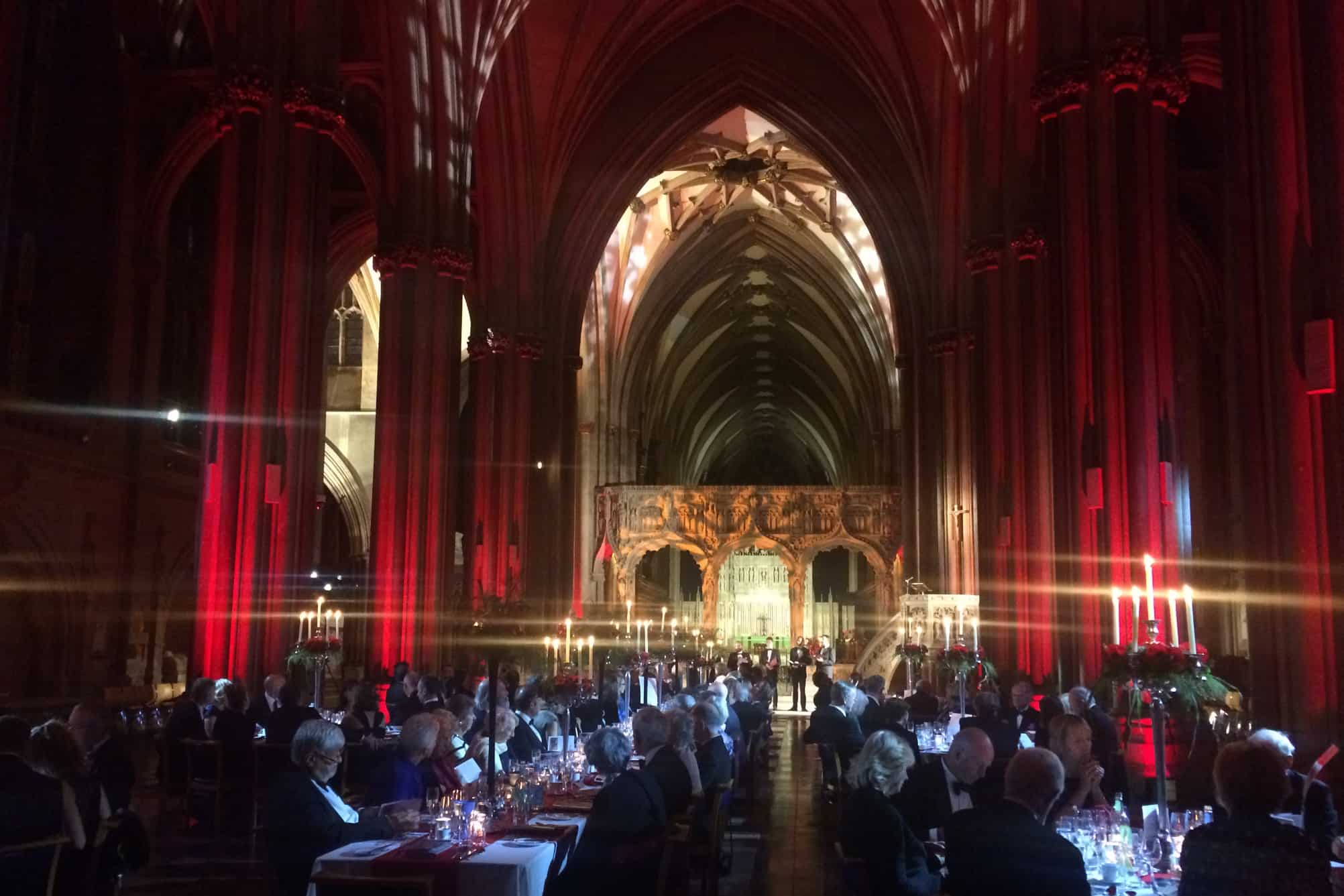 Private Dinner at Bristol Cathedral