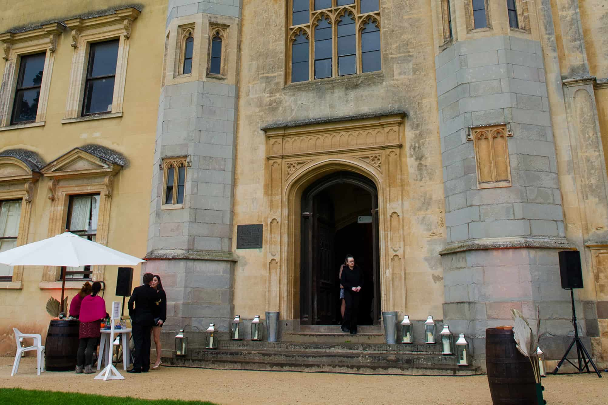 Ashton Court Mantion Entrance