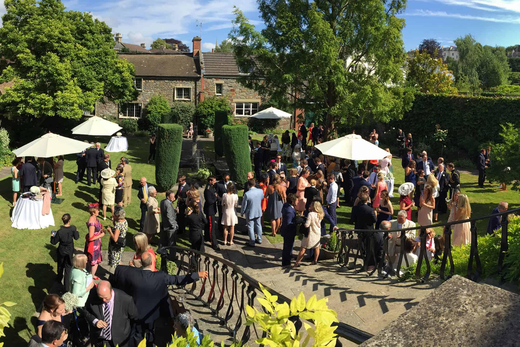 Wedding at Merchants Hall