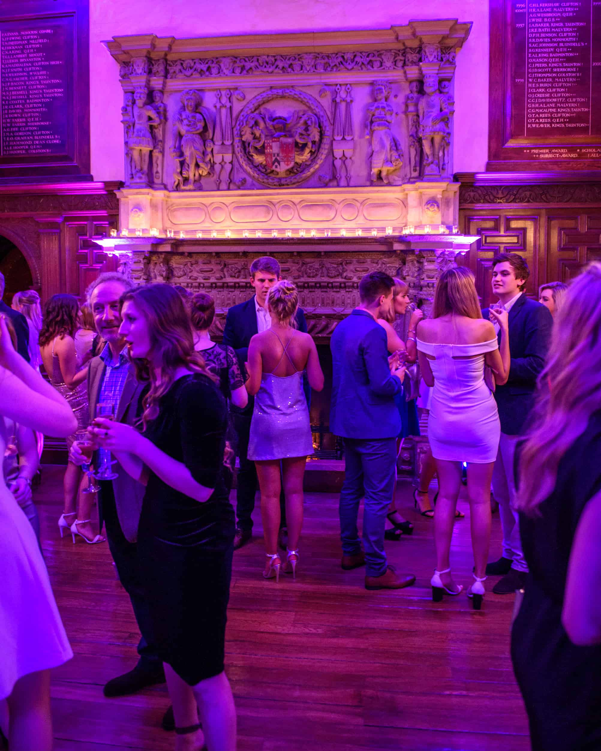 Party inside Great Hall