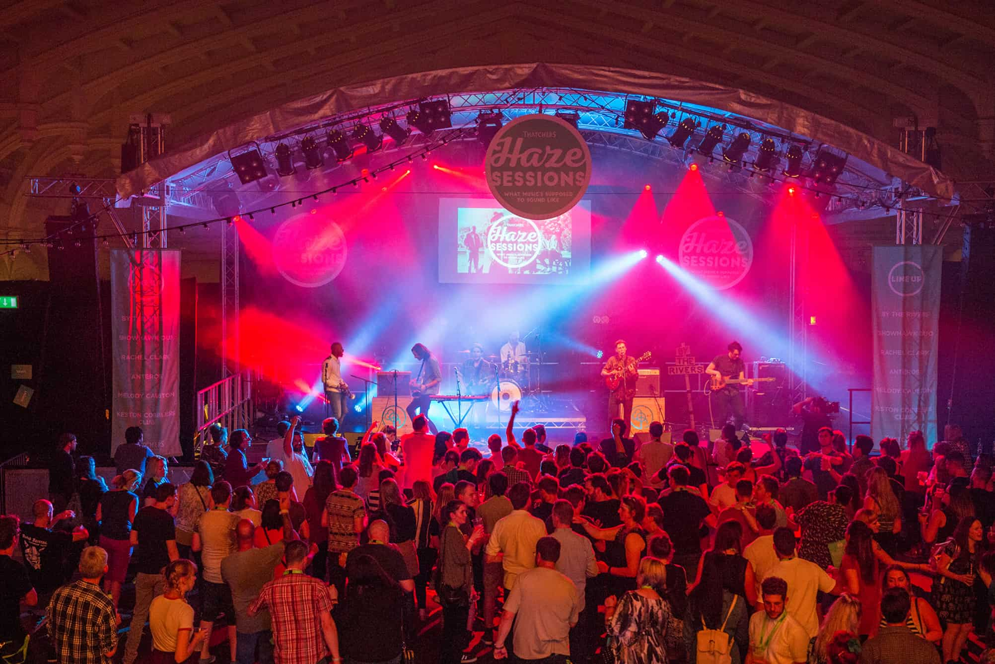 Indoor Music Stage