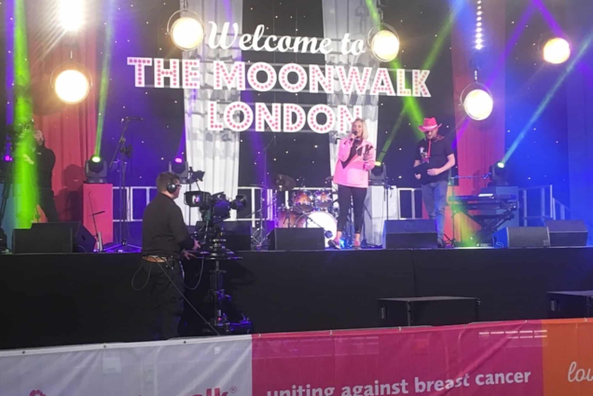 Moonwalk Stage