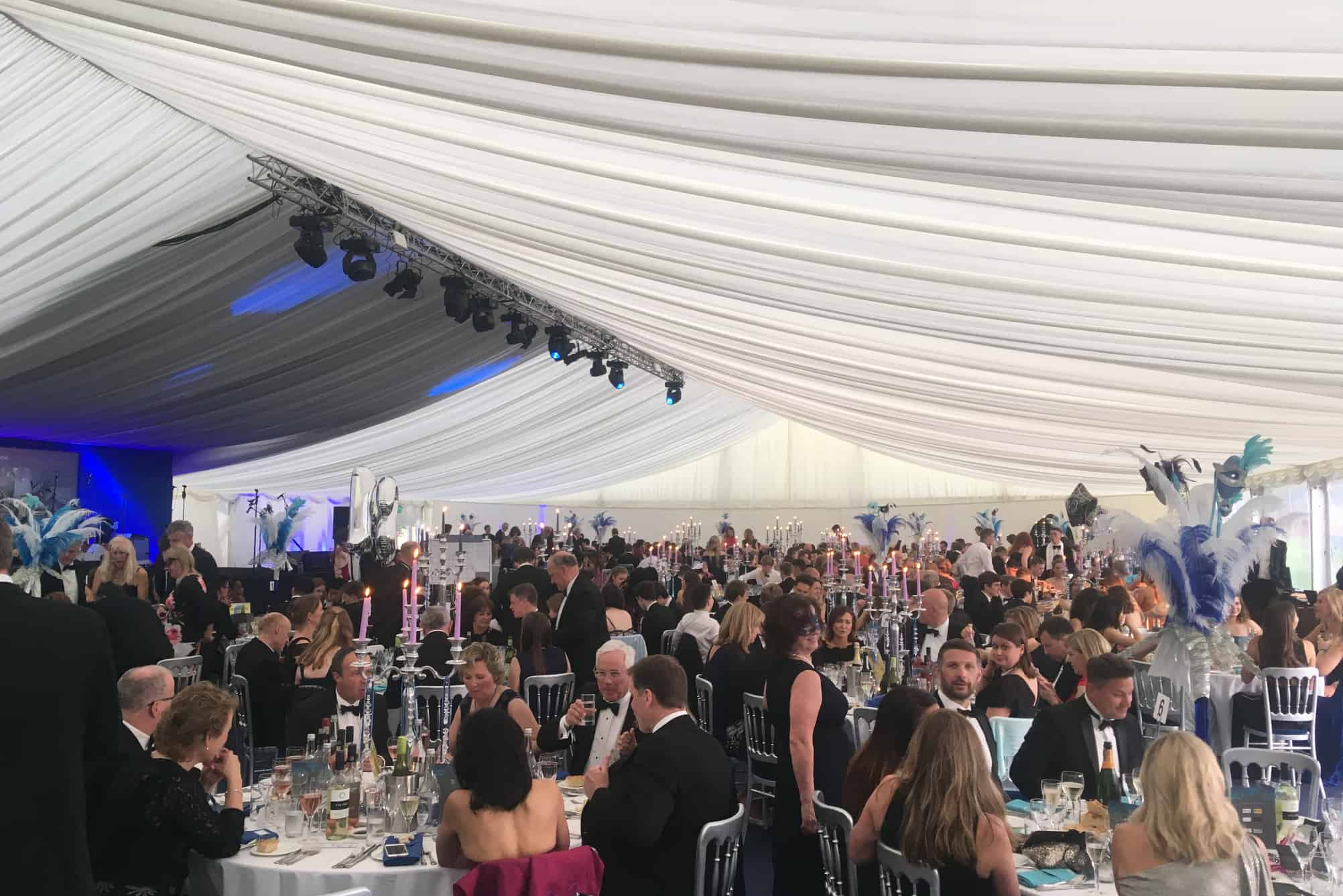 Masquerade Ball in Marquee