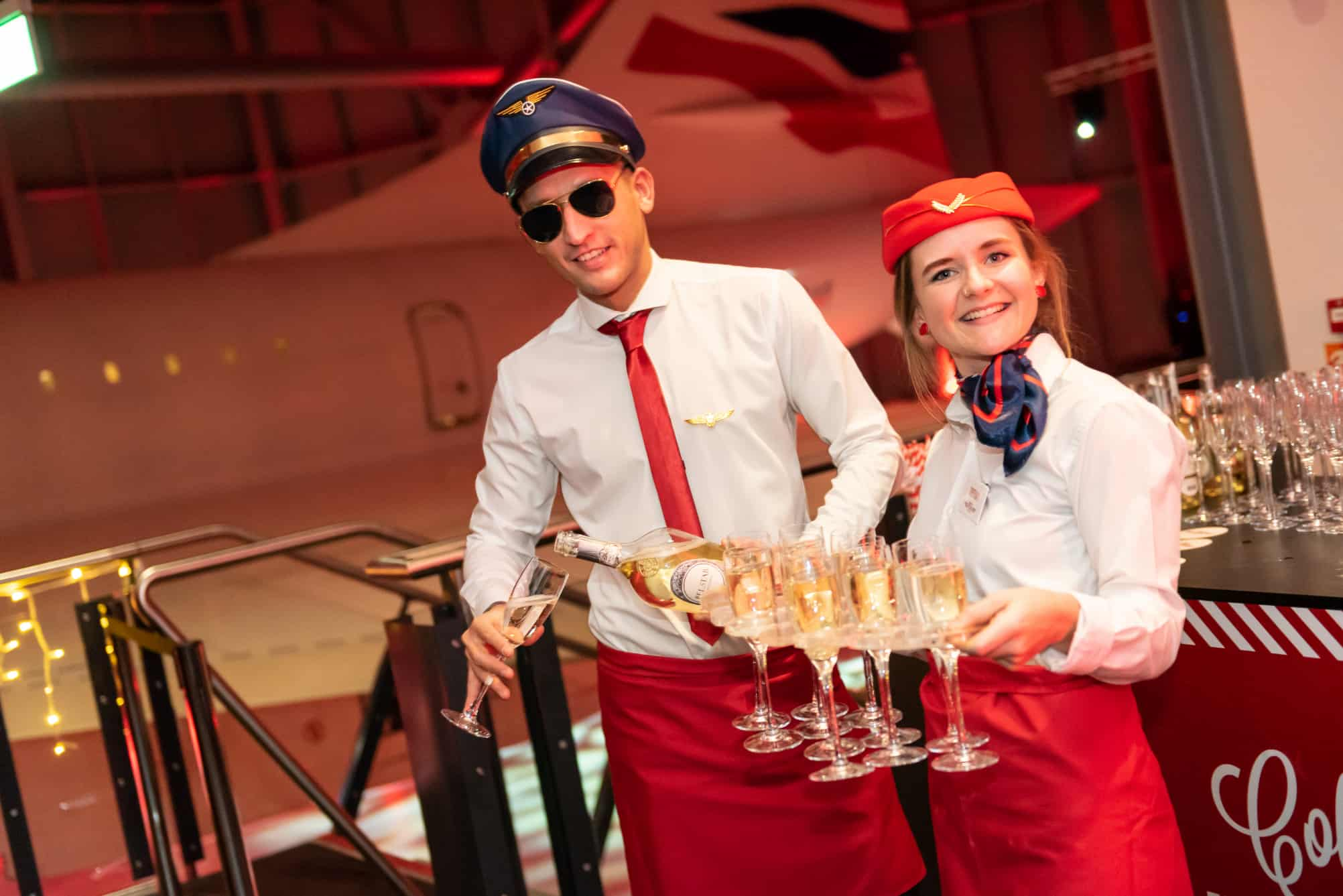 Air Steward Waiting Staff