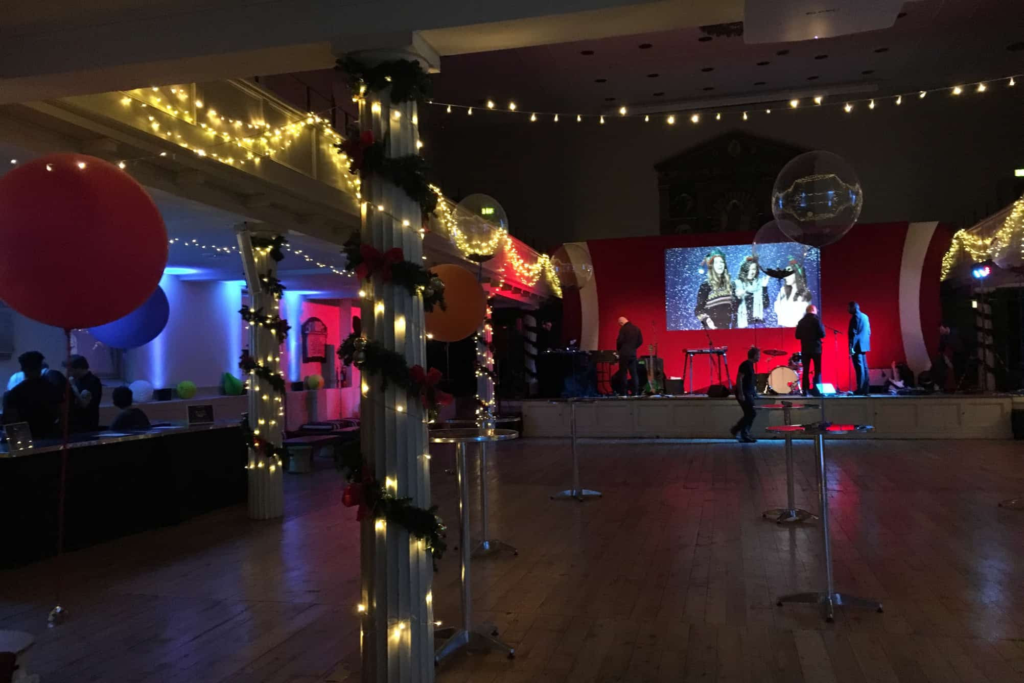 Venue hire at St George's Bristol