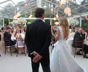 Wedding at Belcombe Court