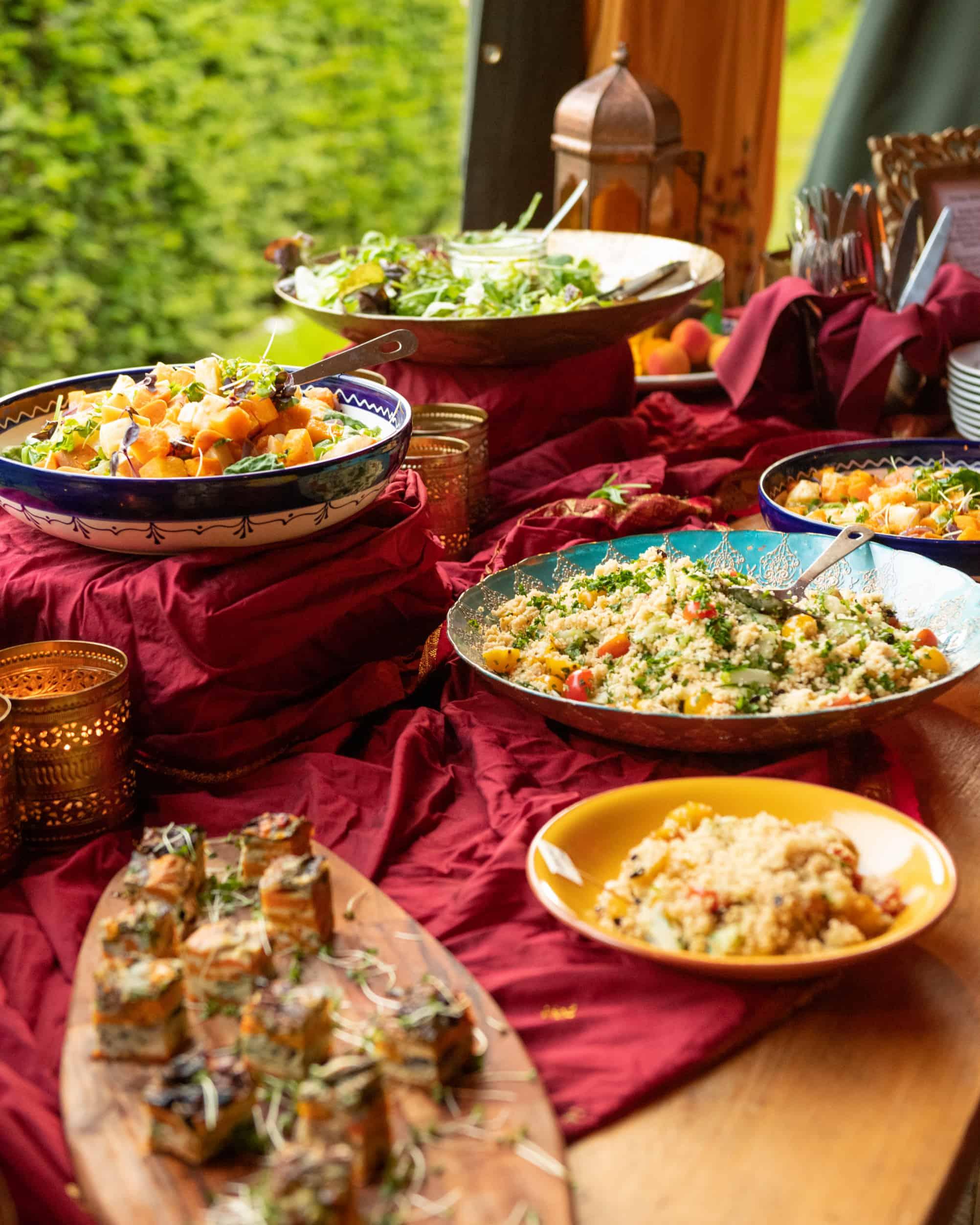 Arabian style buffet