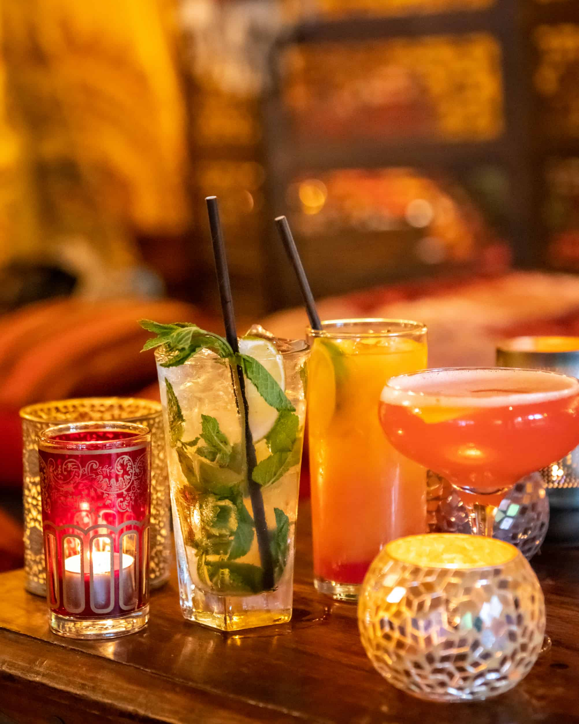 Arabian inspired cocktails