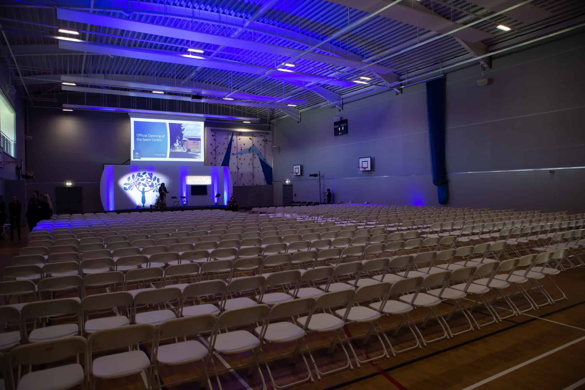 Event within sportshall