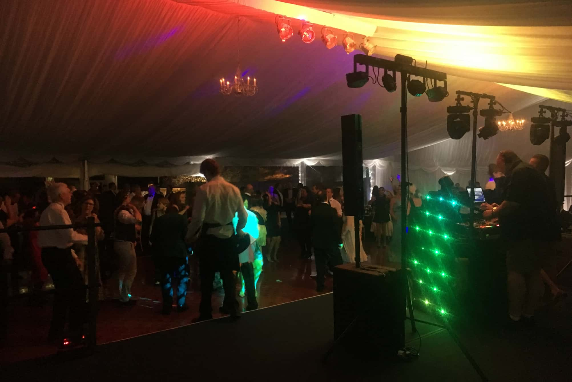 Disco within marquee