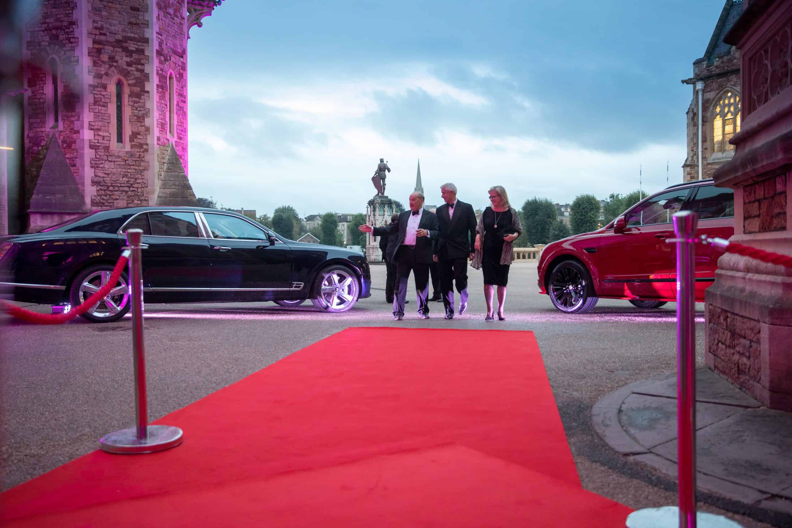 Charity Fundraising Dinner red carpet arrival