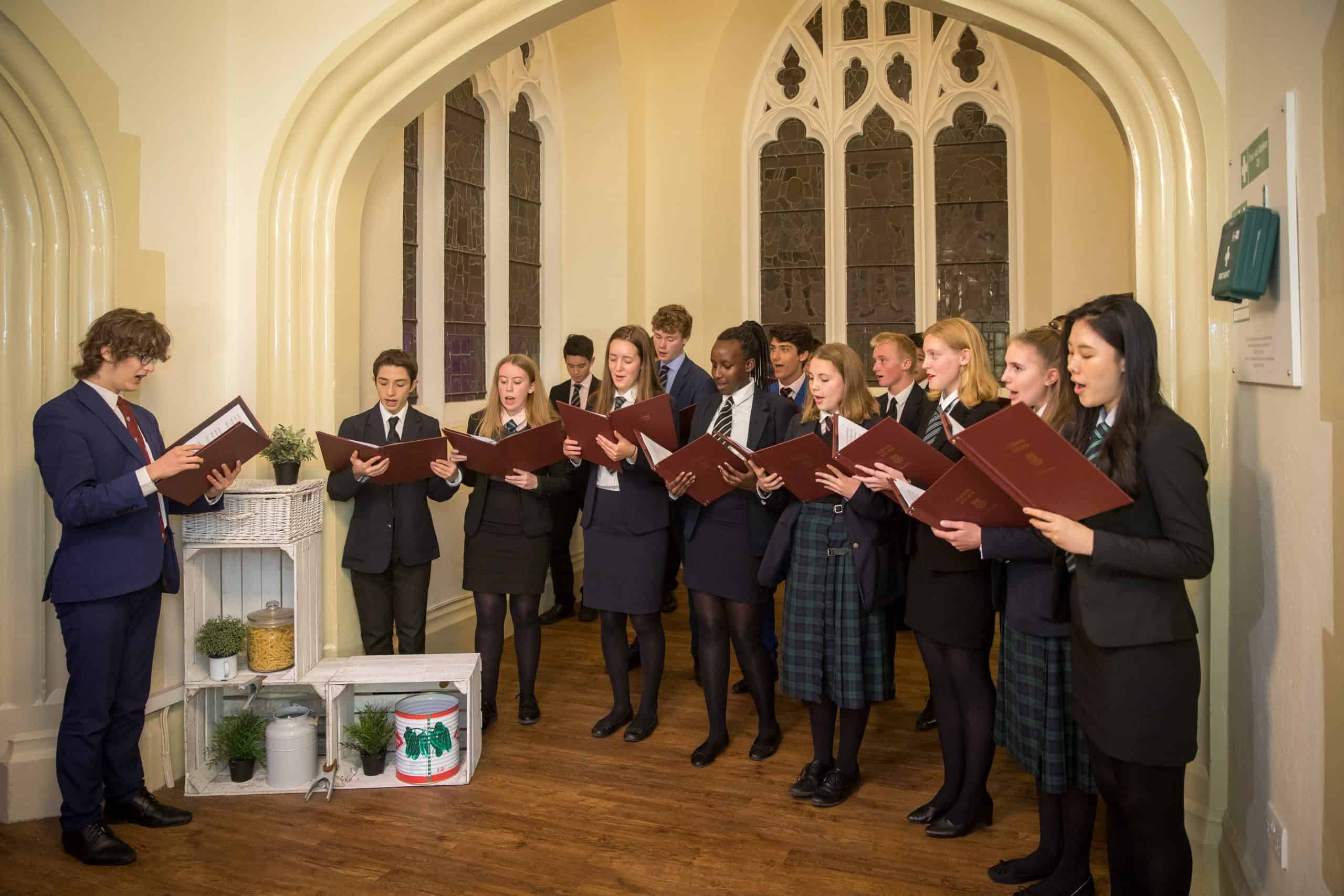 Charity Fundraising Dinner clifton college choir