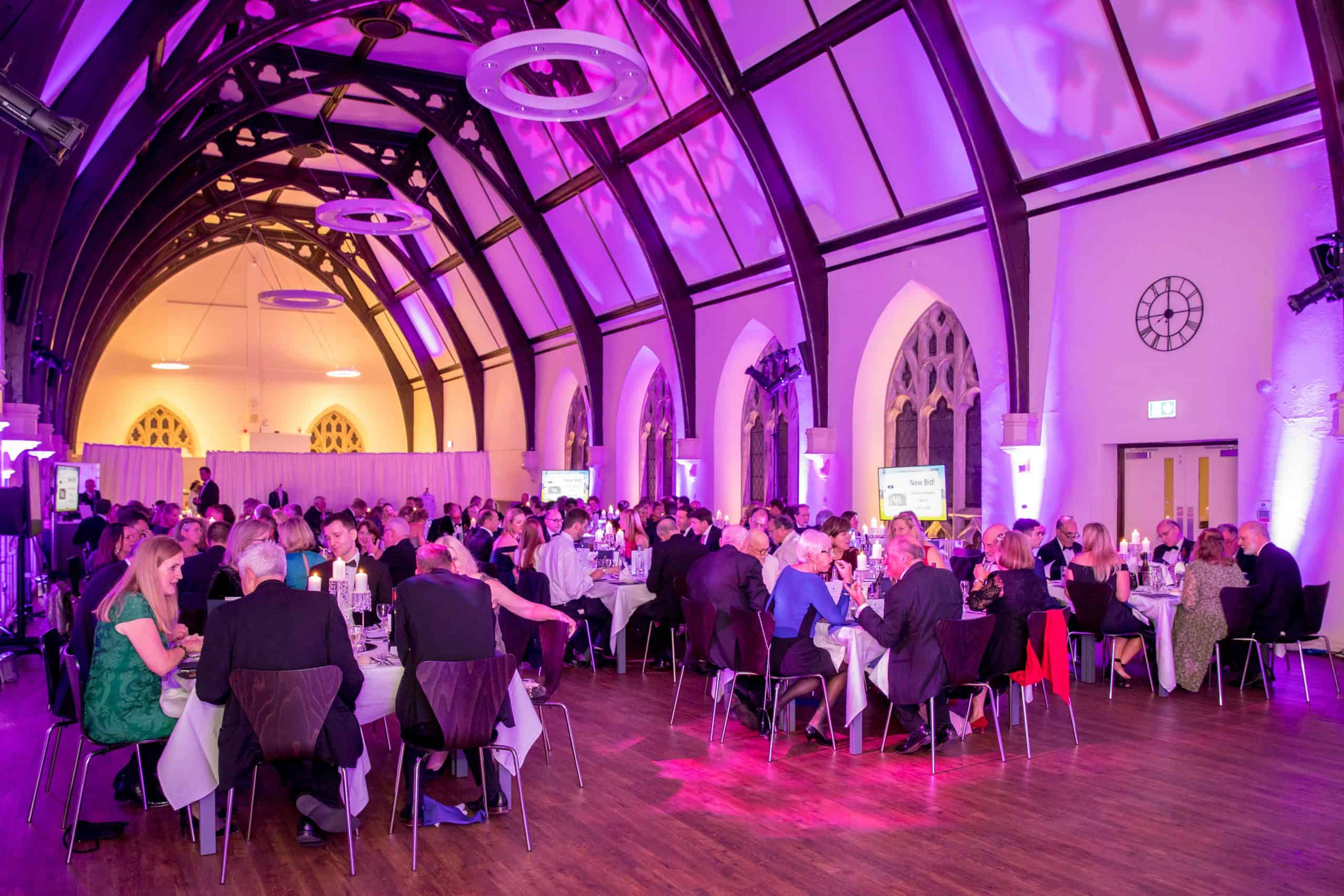 Charity Fundraising Dinner clifton college dinner